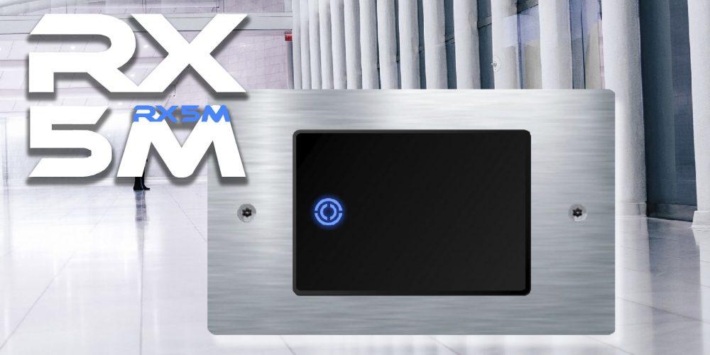 Lector RX5M: robusto, elegante y totalmente programable